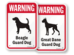 Dog Warning Signs by Breed