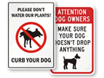 Funny Dog Poop Signs