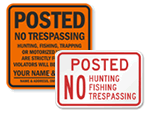 Posted Property Signs