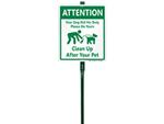 LawnBoss Dog Poop Signs