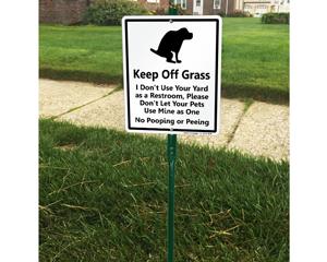LawnBoss® Dog Poop Sign