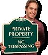 Designer Property Signs