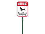 LawnBoss™ Dog Warning