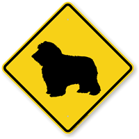 Sheepdog Symbol Guard Dog Sign