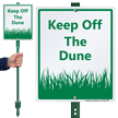 Keep Off The Dune Lawnboss Sign Kit