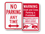 More No Parking Signs
