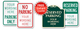 Parking Sign Quoter