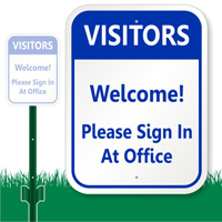 Welcome, Office Sign