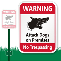 No Trespassing Warning Sign