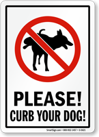 Please! Curb Your Dog
