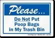 Dumpster Rule Label