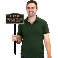 Gardenboss™ Statement Plaque With Stake