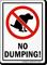No Dumping (Dog Poop Sign)