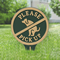 Please Pick Up No Poop Dog Petite Lawn Stake Sign