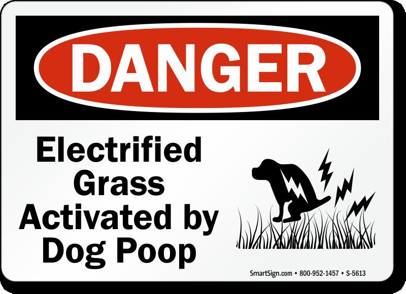 Humorous Dog Poop Signs Funny Dog Poop Signs