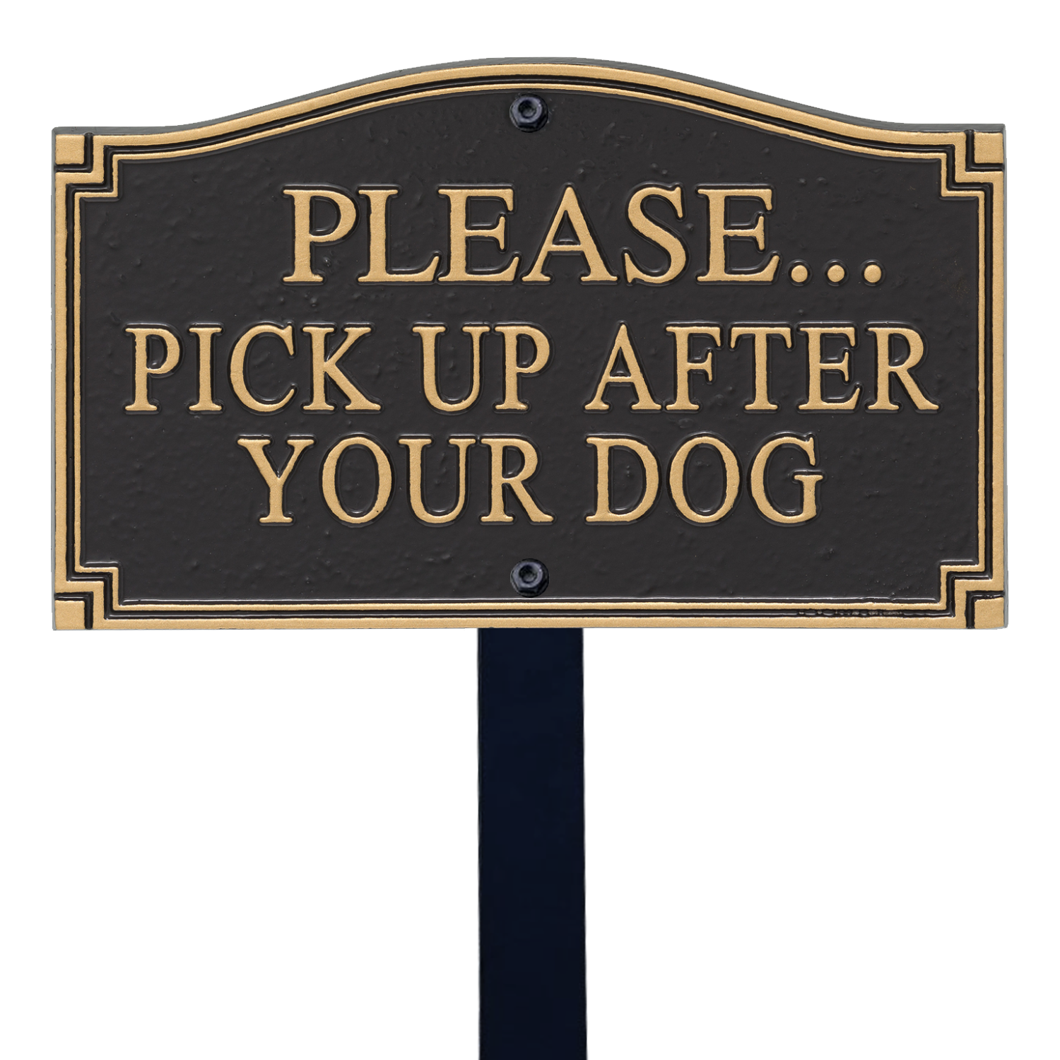 Clean Up After Your Dog Signs Clean Up Dog Poop Signs